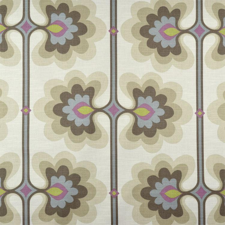 HGTV Flower Tower Quartz Fabric