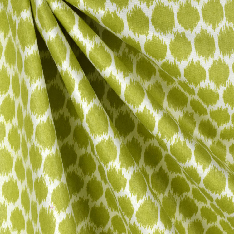 Waverly Seeing Spots Wasabi Fabric