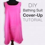 DIY Bathing Suit Cover-up Tutorial (Free Pattern!)