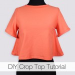 DIY Crop Top Tutorial (Free Pattern!)
