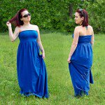 DIY Pleated Maxi Dress Tutorial (Free Pattern!)
