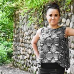 DIY Sleeveless Blouse with Zipper Tutorial