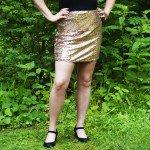 DIY Sequin Skirt Tutorial