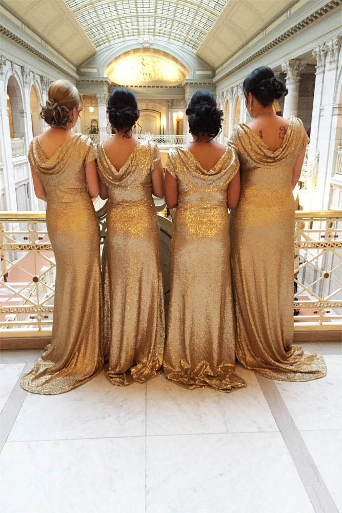 Bridesmaid Dresses back