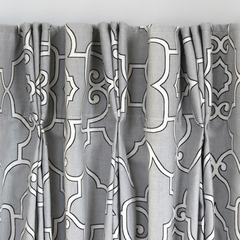 How To Make Pleated Curtains With Pleat Tape Hooks Blog