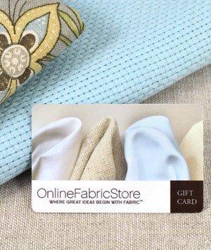 OnlineFabricStore Gift Certificate