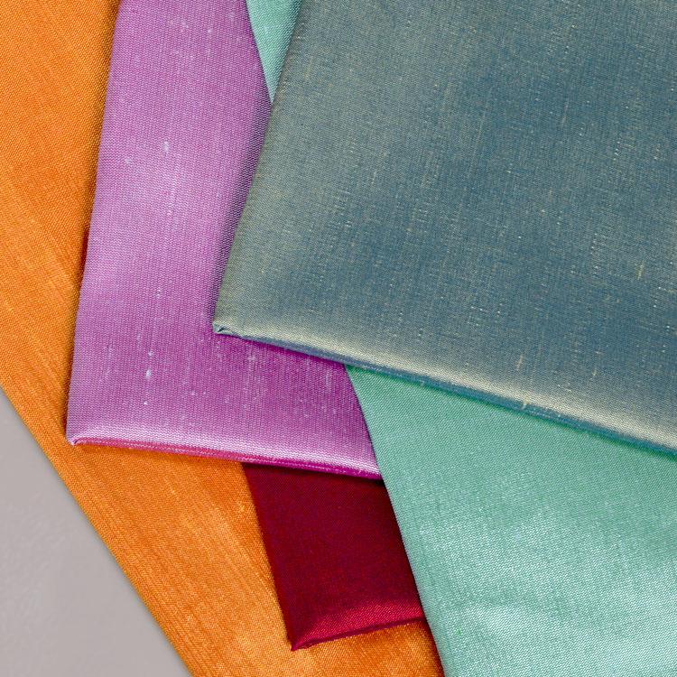 Silk Shantung Drapery Fabric