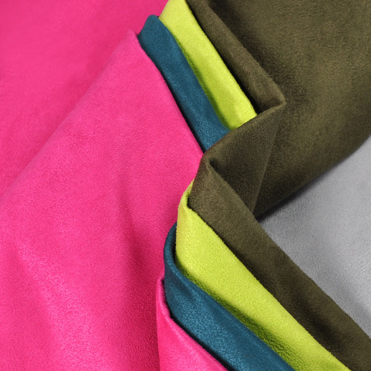 Faux Suede Upholstery Fabric
