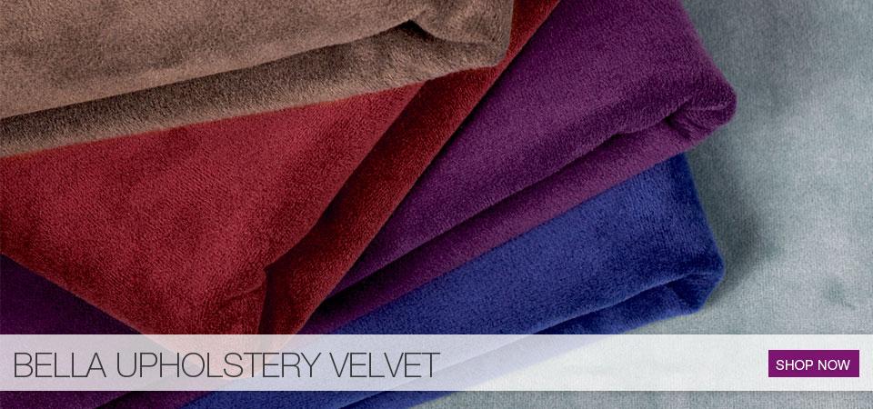 Bella Upholstery Velvet