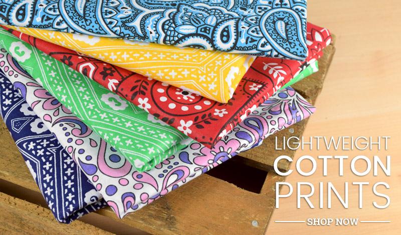 Lightweight Cotton Prints