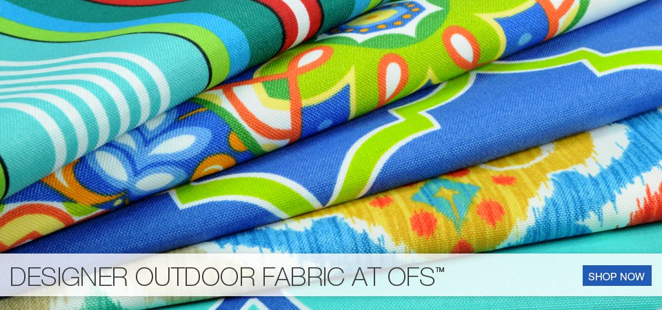 Designer Outdoor Fabric