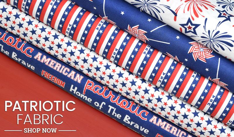 Shop Patriotic Fabric