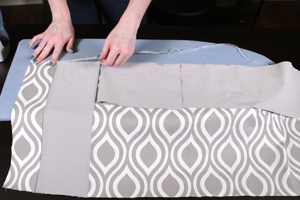No Sew Valance - bonding tape