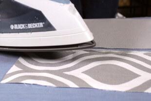 No Sew Valance - melt bonding tape