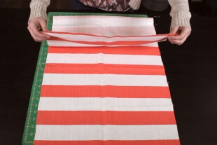 How To Make a Simple Tote Bag - Cutting the dimensions