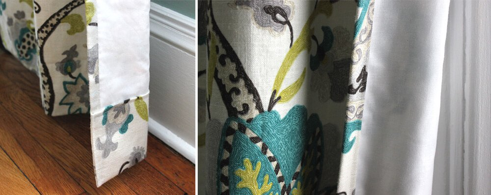 How To Pick Drapery Lining Aesthetics