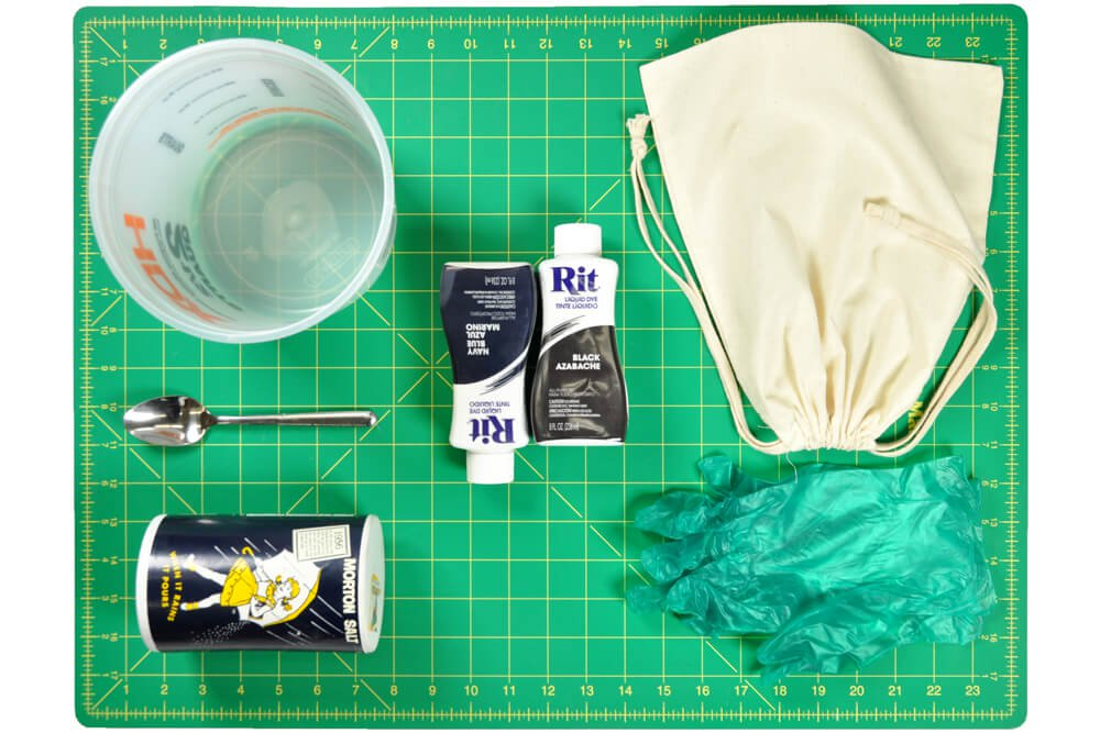 How to Dye Fabric (Immersion Dye Technique Tutorial) Materials