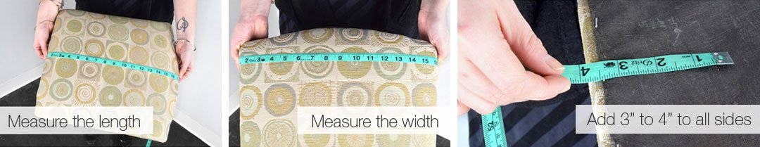 How to Measure Dining Room Chairs for Upholstery Fabric ...