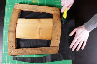 How to Reupholster Dining Chairs - DIY Tutorial - Step 1: Remove the old fabric