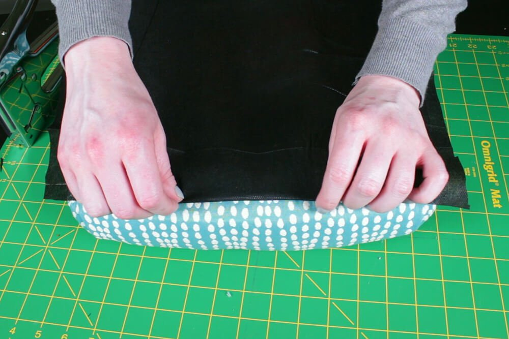 How to Reupholster Dining Chairs - DIY Tutorial - Step 4: Attach the dust cover