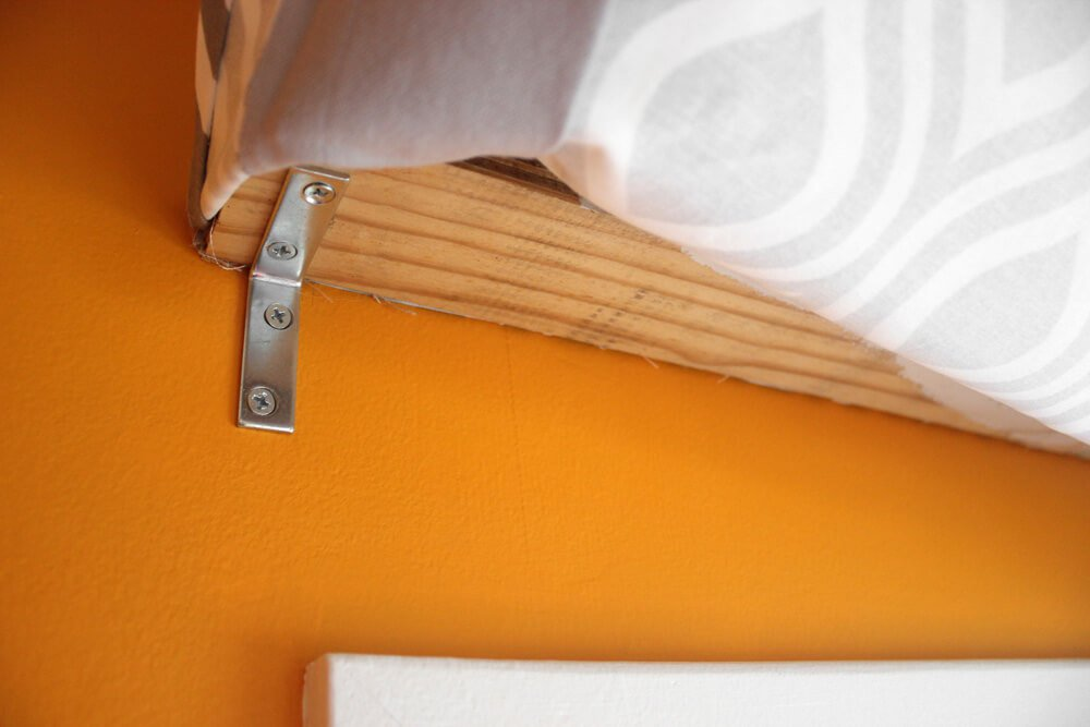 No Sew Valance - Attach to wall
