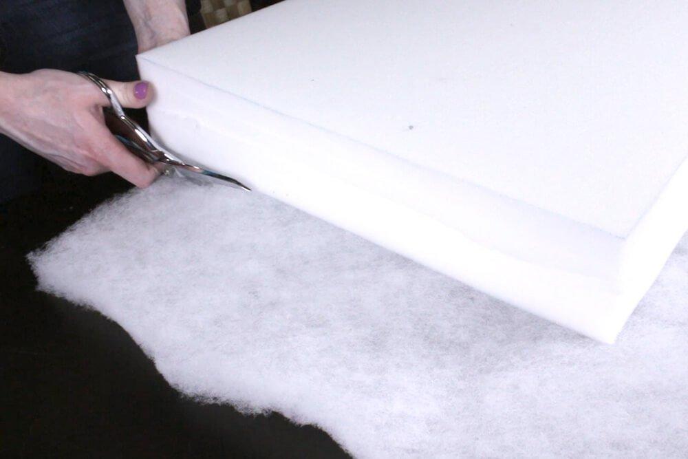 Box Cushion - Cut the padding