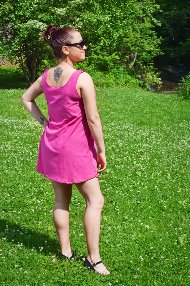 DIY Bathing Suit Cover-Up Tutorial-finsihed