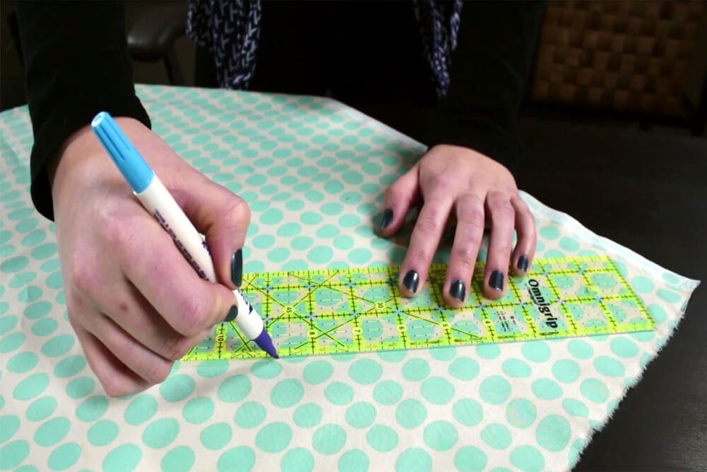 How To Make a Pot Holder With Bias Tape Tutorial- Make the bias tape