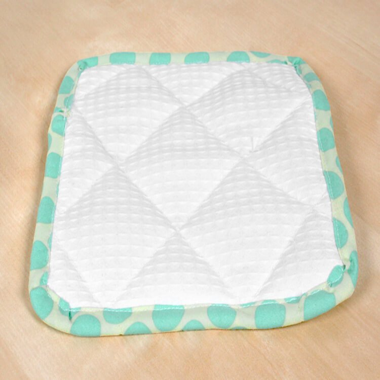 How To Make a Pot Holder with Bias Tape