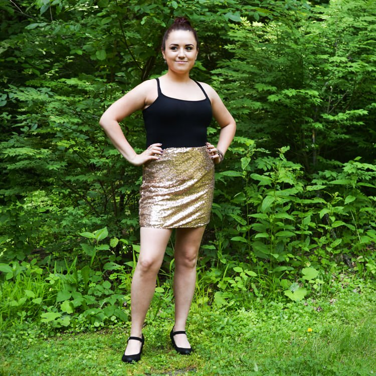 How to Make a Sequin Skirt