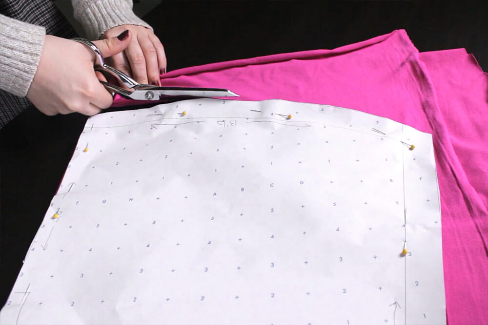 How to Make a Swimsuit Cover-Up - Cut out the pattern