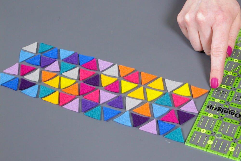 How To Make a Felt Pencil Holder- Glue the felt to the pencil holder