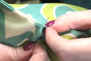How to Sew an Invisible Stitch - Beginning to sew