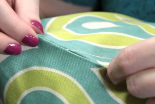 How to Sew an Invisible Stitch - Continuing to stitch