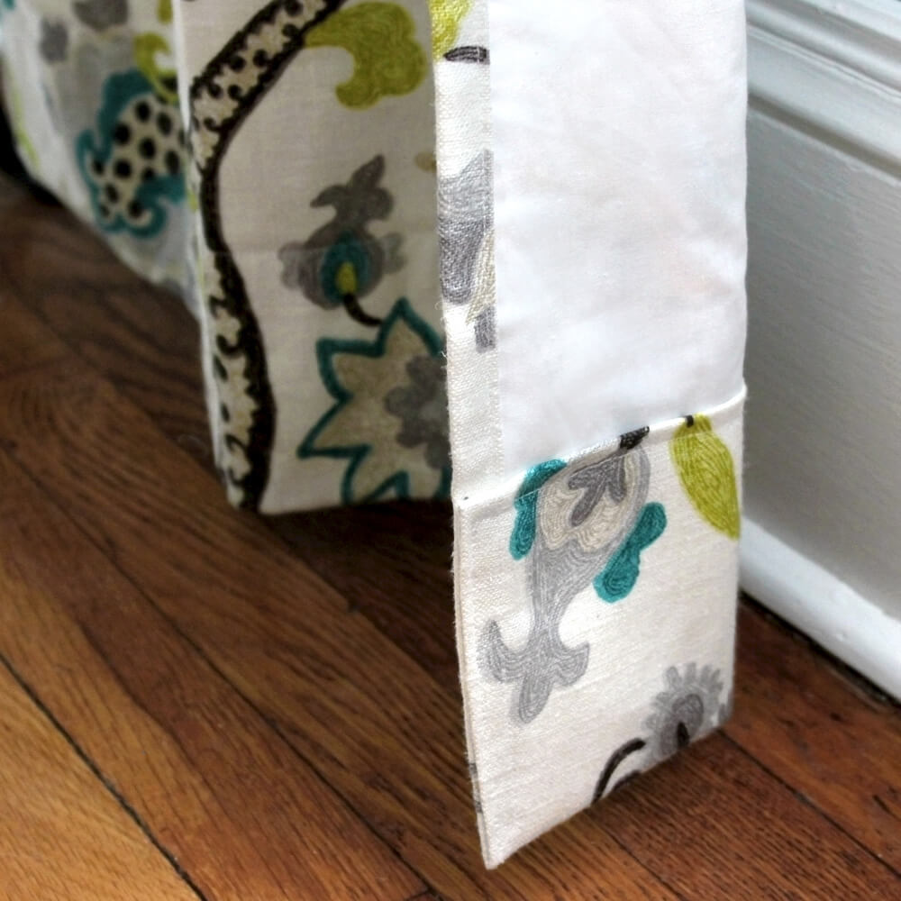 How To Make Lined Back Tab Curtains