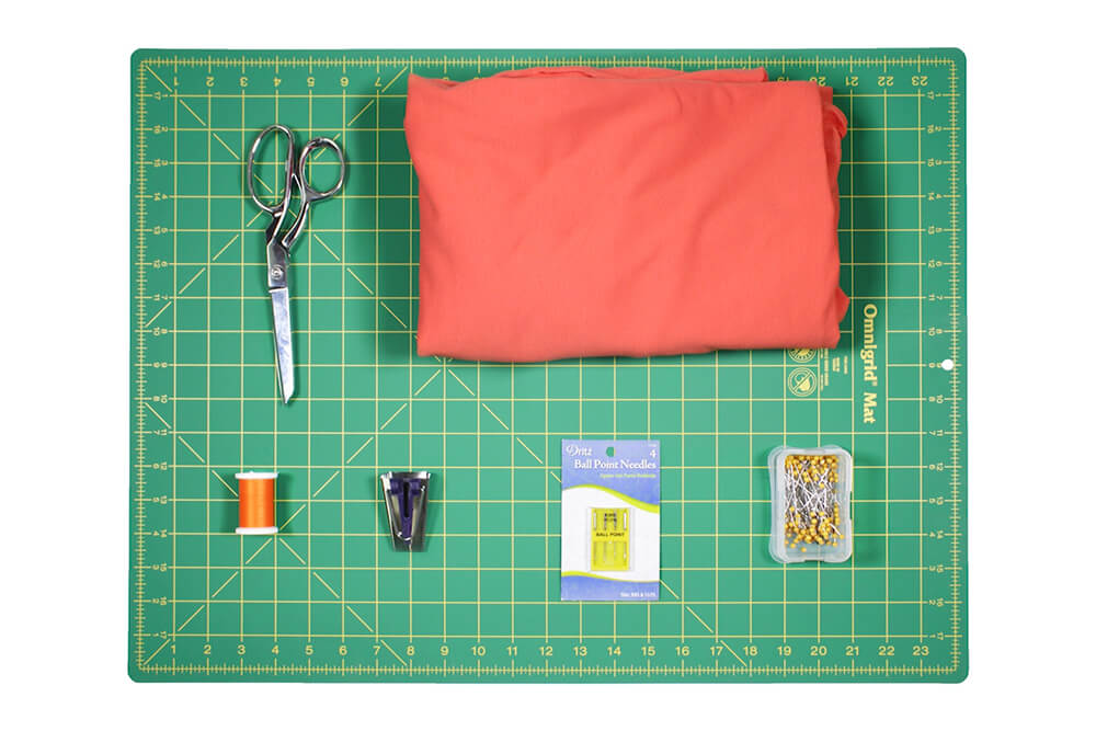 DIY Crop Top Tutorial - Materials