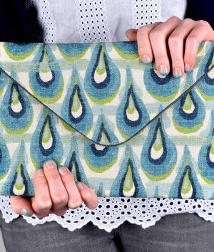 How to Make an Envelope Clutch (iPad / Tablet Case)