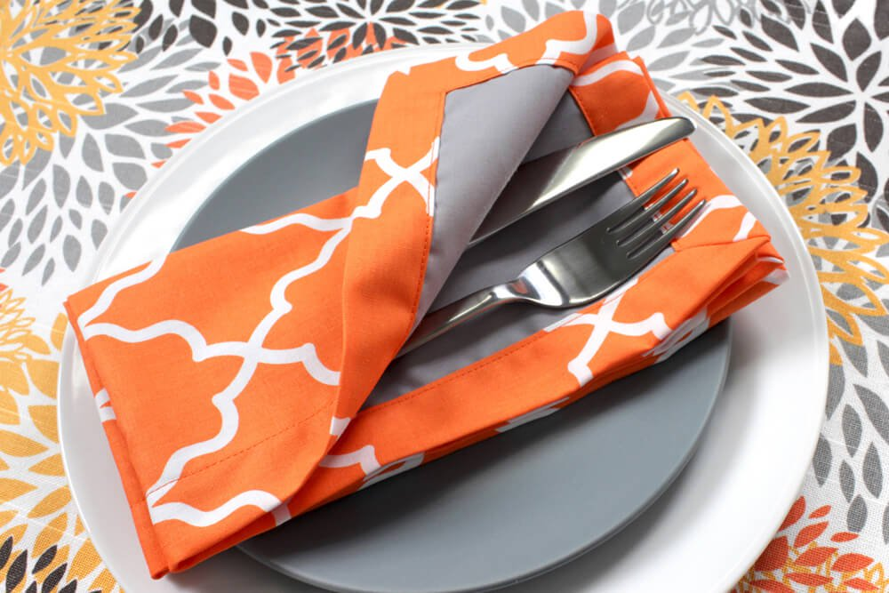 How to Sew a Fabric Napkin