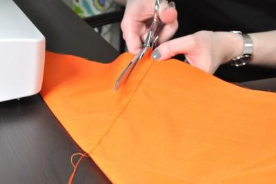 DIY Fabric Storage Bin - Step 5: Sew the outer & lining fabrics