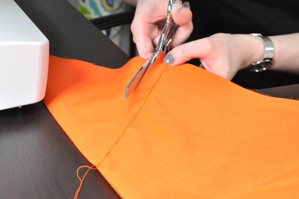 DIY Fabric Storage Bin - Step 5: Sew the outer & lining fabrics