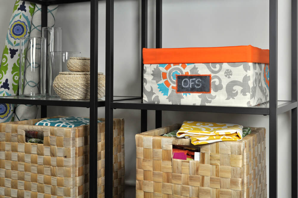DIY Fabric Storage Bin