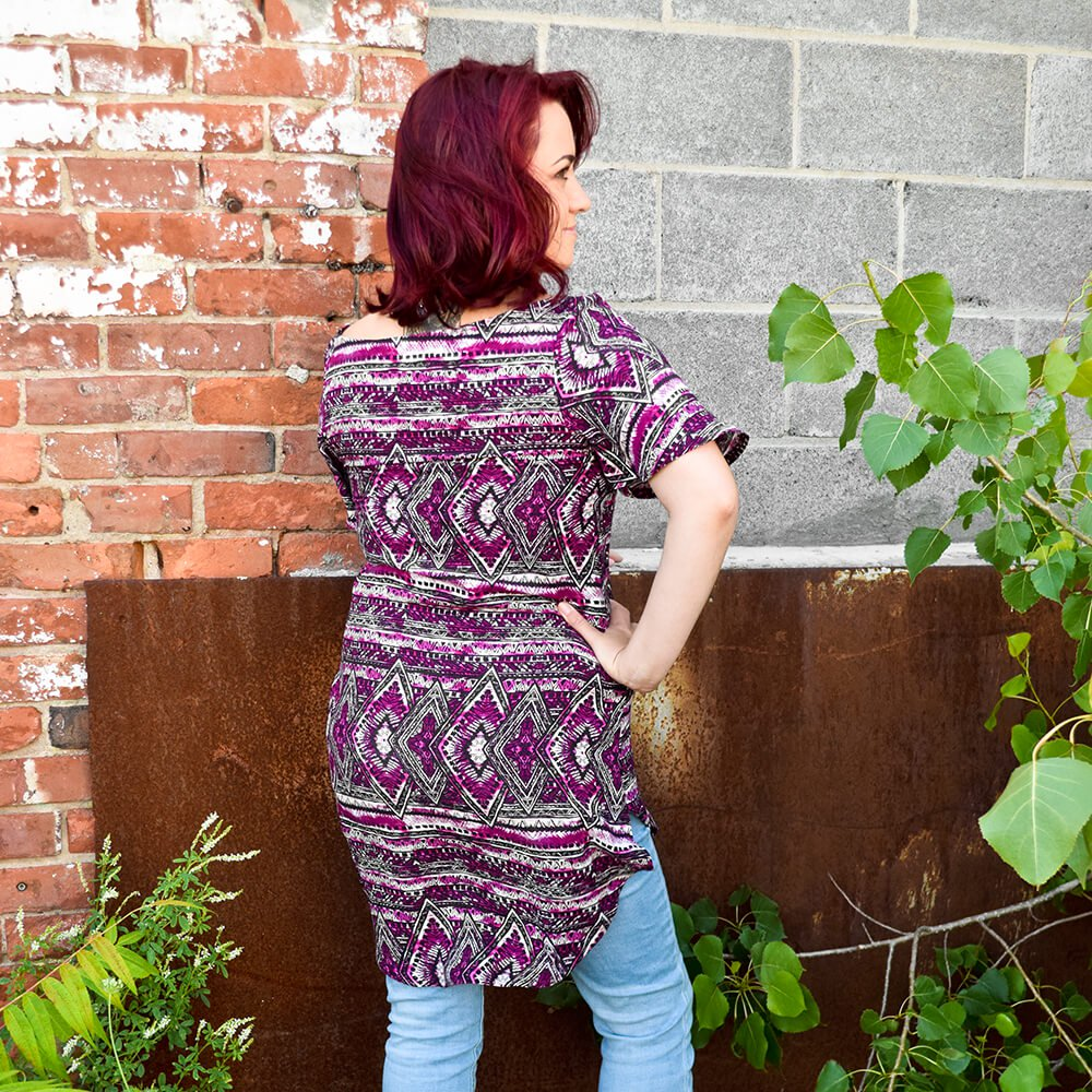 DIY High Low Tunic Tutorial - Finished