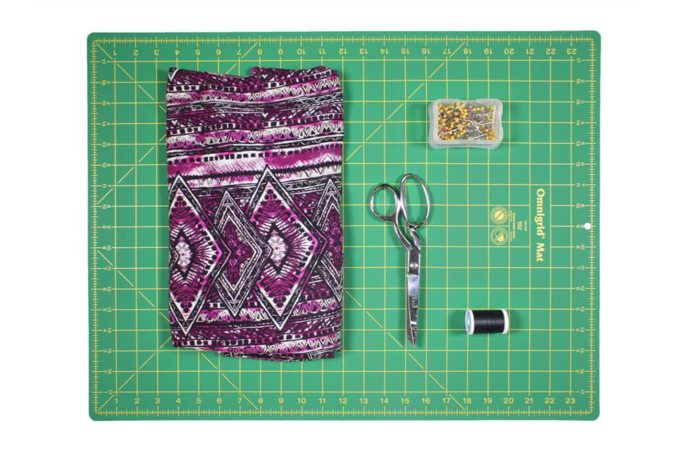 DIY High Low Tunic Tutorial - Materials