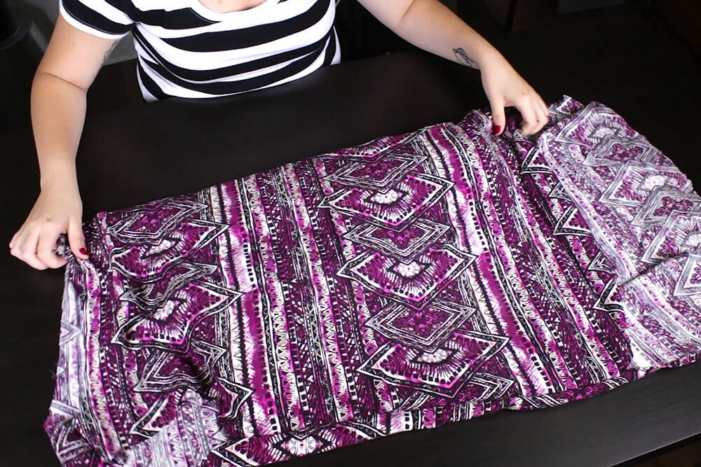 DIY High Low Tunic Tutorial - Finishing the inside seams