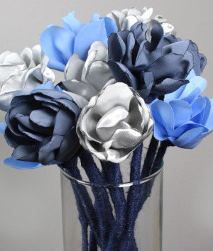How to Make a Fabric Flower Bouquet