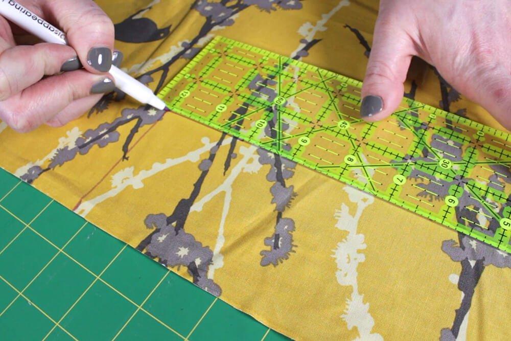 Key Fob - Measure and cut inside piece