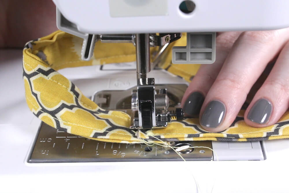 Key Fob - Sew ends together