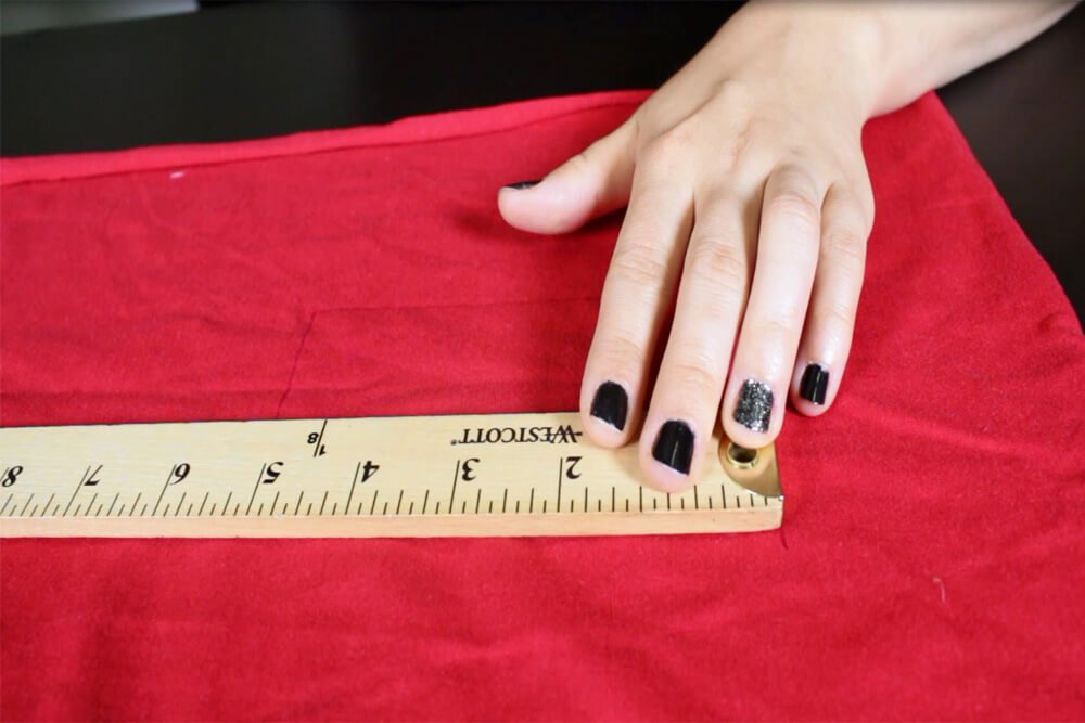 How to Make No Sew Headbands - 3 Styles - Measure and cut the fabric