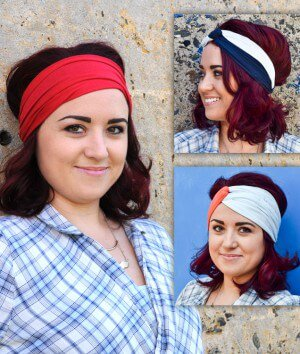 How To Make No Sew Headbands – 3 Styles