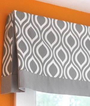 How to Make a No-Sew Valance